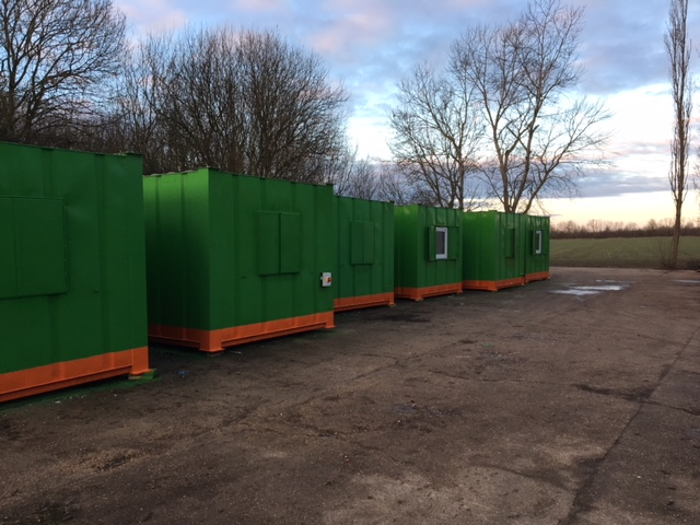 After - 10no. units painted to customers specification