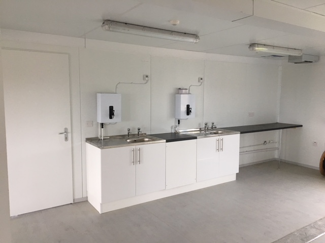 Kitchen Fit out complete with plumbing works